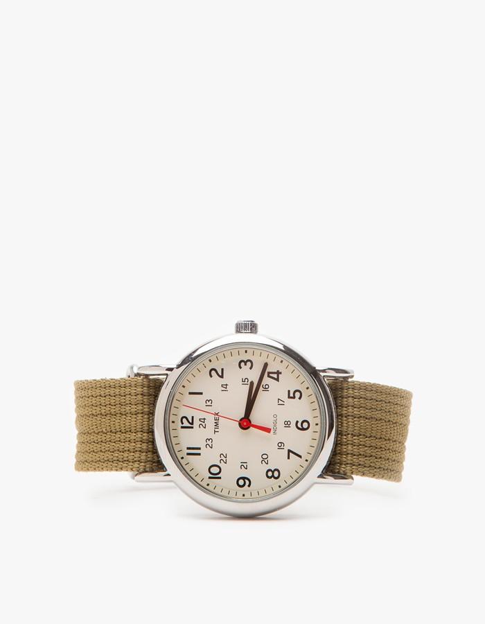Olive Weekender Timex 1