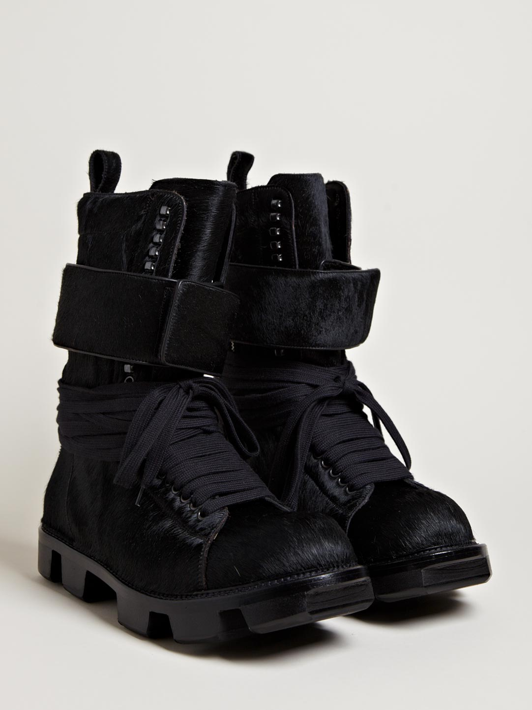 Pony Skin Plinth Boot Rick Owens 2