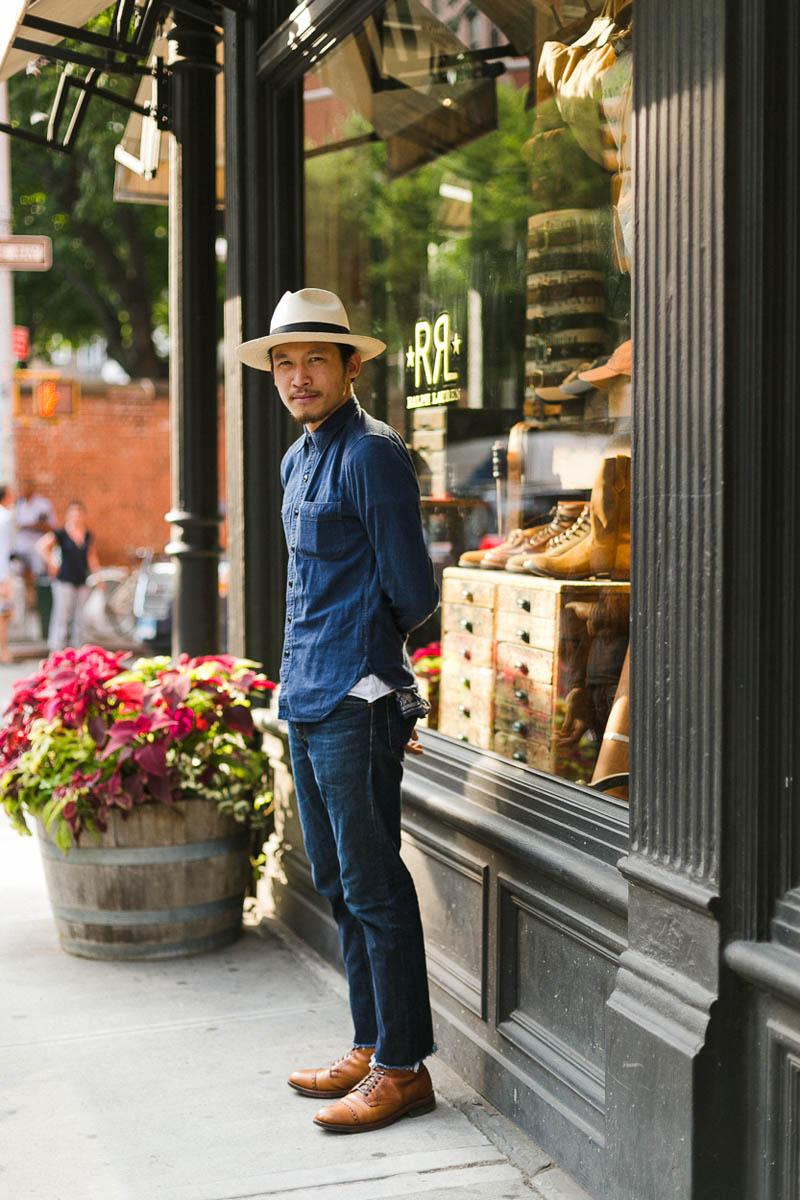 Refined Denim Streetwear NYC men's fashion & style
