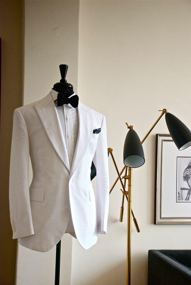 Summer Affair Manolo Costa White Tuxedo