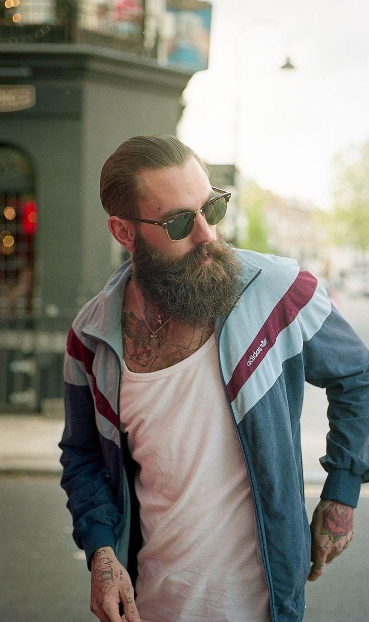 Track Suit & Beard tattoos ricki hall