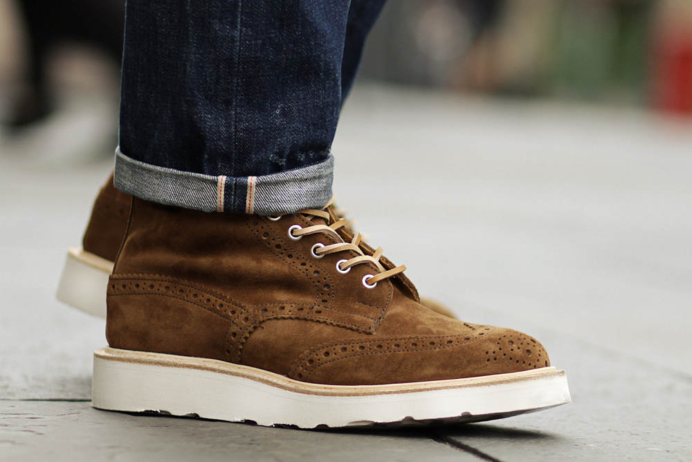 Tricker's for END Stow Brogue Boot 4
