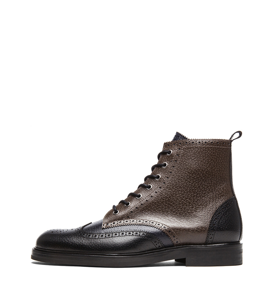 Trico Brown Wingtip boot Pierre Hardy 2