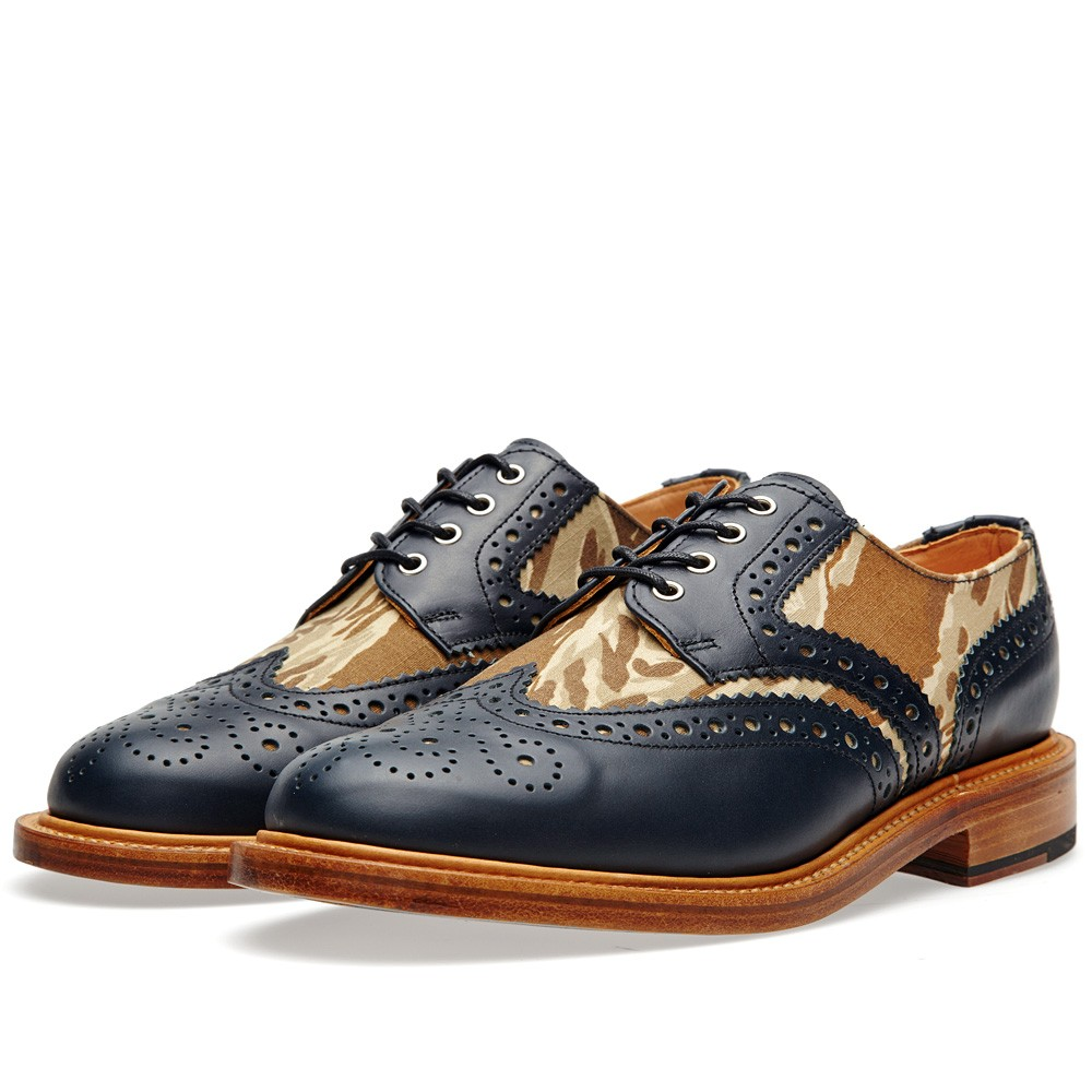 Two Tone Camo Brogue Mark McNairy