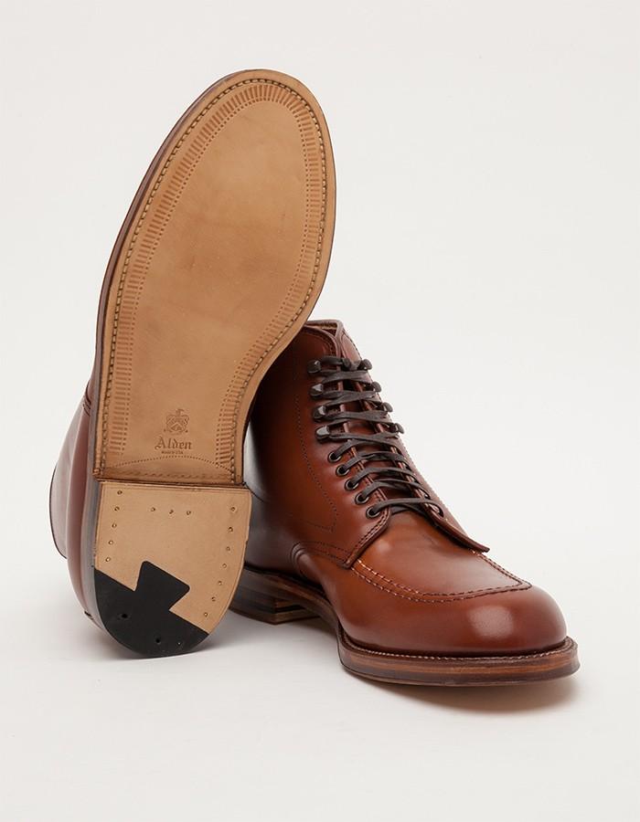 Alden Church Hill Indy Boot veg tan men's fashion style 1