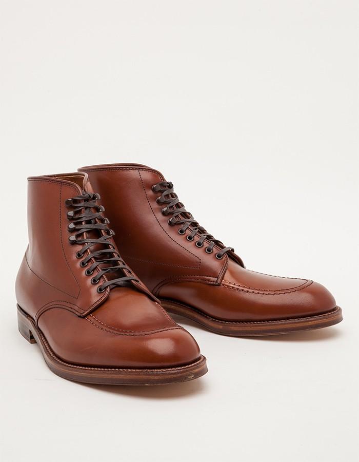 Alden Church Hill Indy Boot veg tan men's fashion style 2