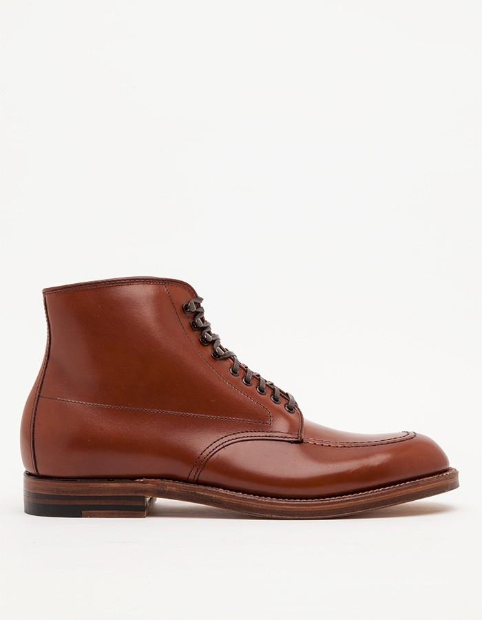 Alden Church Hill Indy Boot veg tan men's fashion style 4