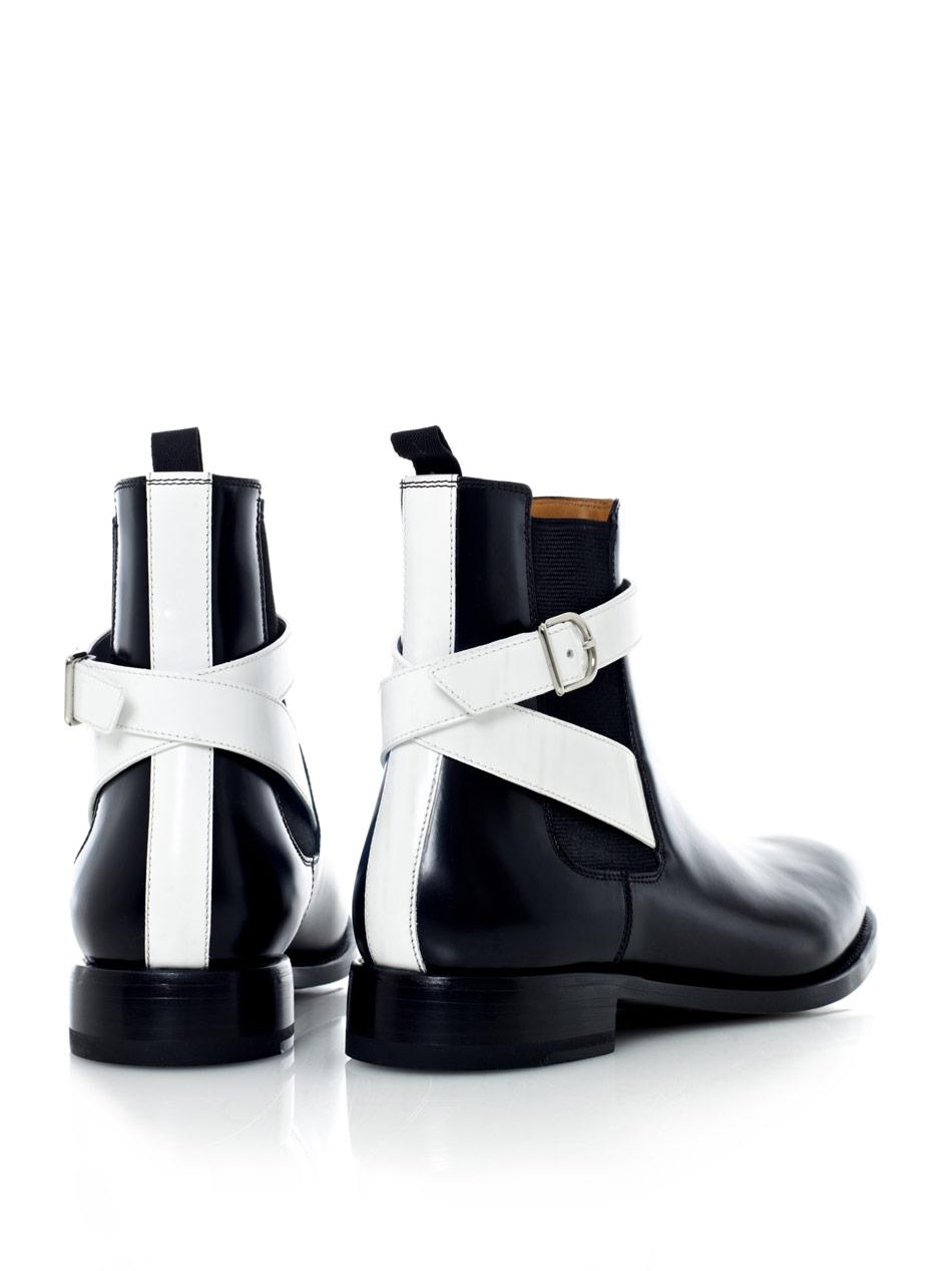 Balenciaga Leather Chelsea Boot