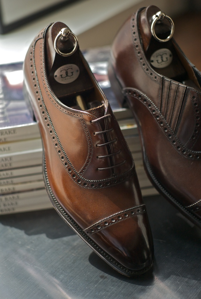 Christian Dior Mens Brown Sole Shoes