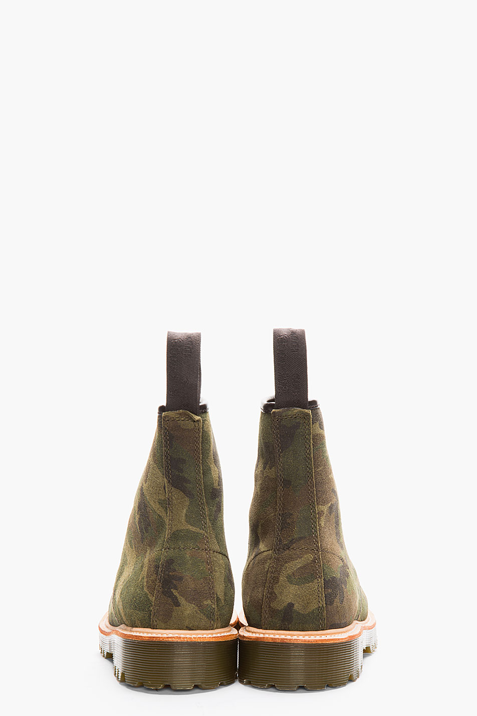 Green Camo 1460 8-eye boot Dr. Martens Rugged suede men style 3