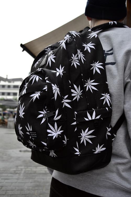Marijuana Bag Huf Clothing streetwear menswear