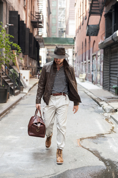 TSBmen x Timberland x Esquire street style menswear