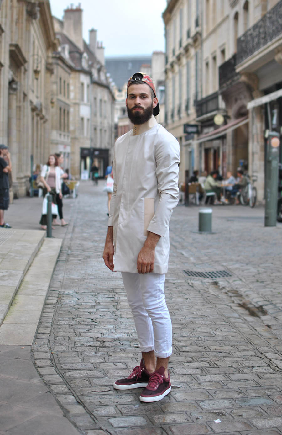 Alkarus in white soletopia for White shirt outfit mens