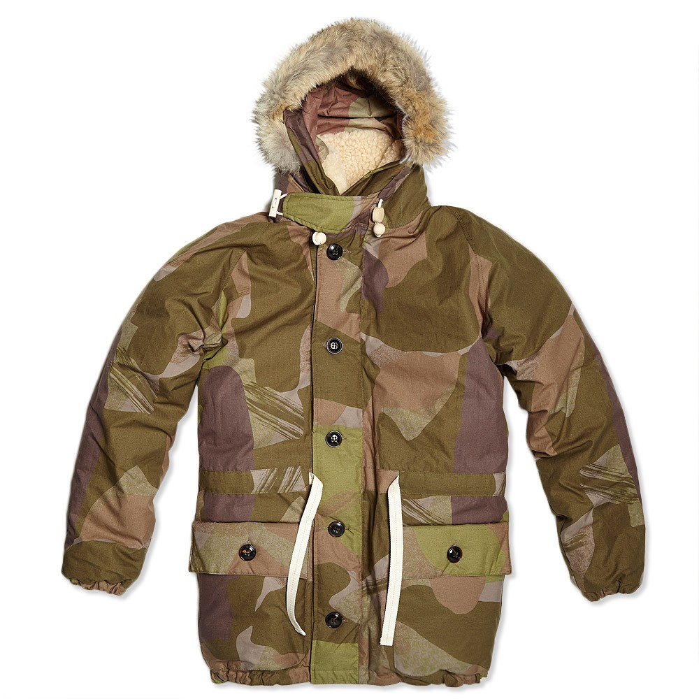 Camo Everest Parka nigel cabourn menswear 1
