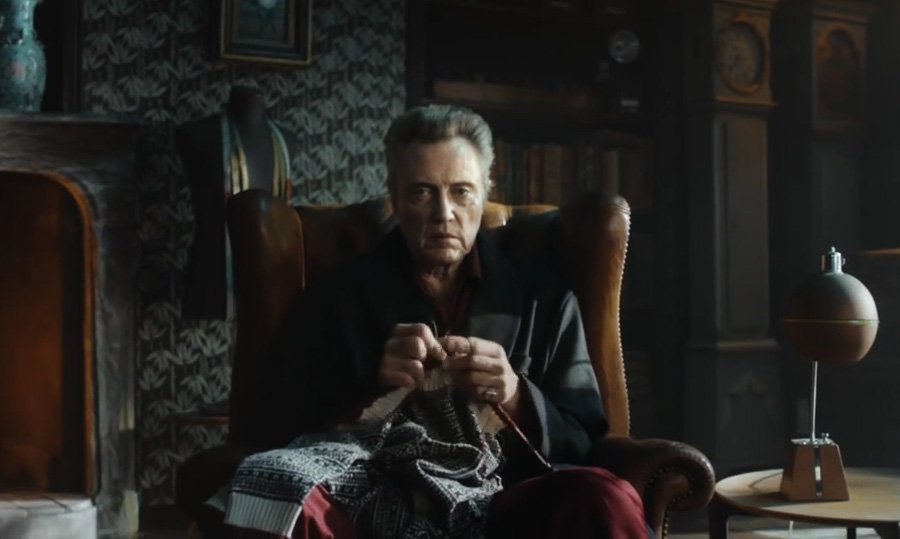 Christopher Walken for Jack & Jones ad campaign made from cool