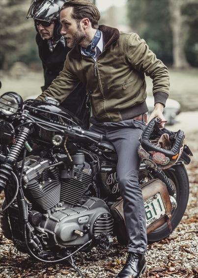 Distinguished Gentleman's Ride lookbook menswear