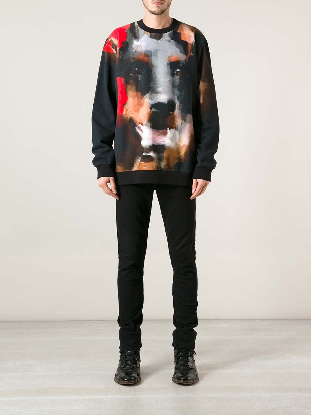 Givenchy Rottweiler Sweater menswear men's fashion