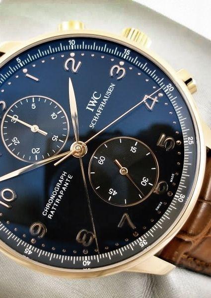 IWC Schaffhausen Chrono rattrapante men's watch