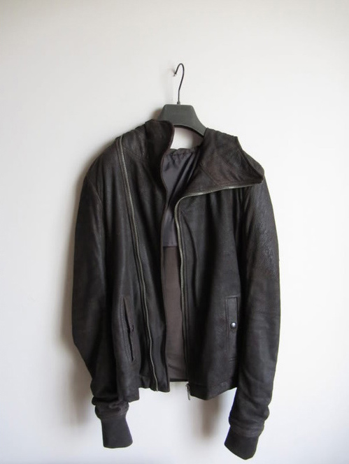 Rick Owens Scuba Leather Jacket FW 2010