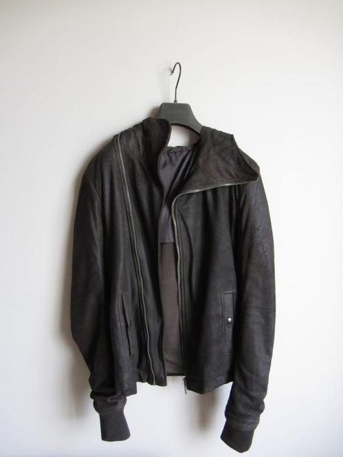 Rick Owens Scuba Leather Jacket FW 2010