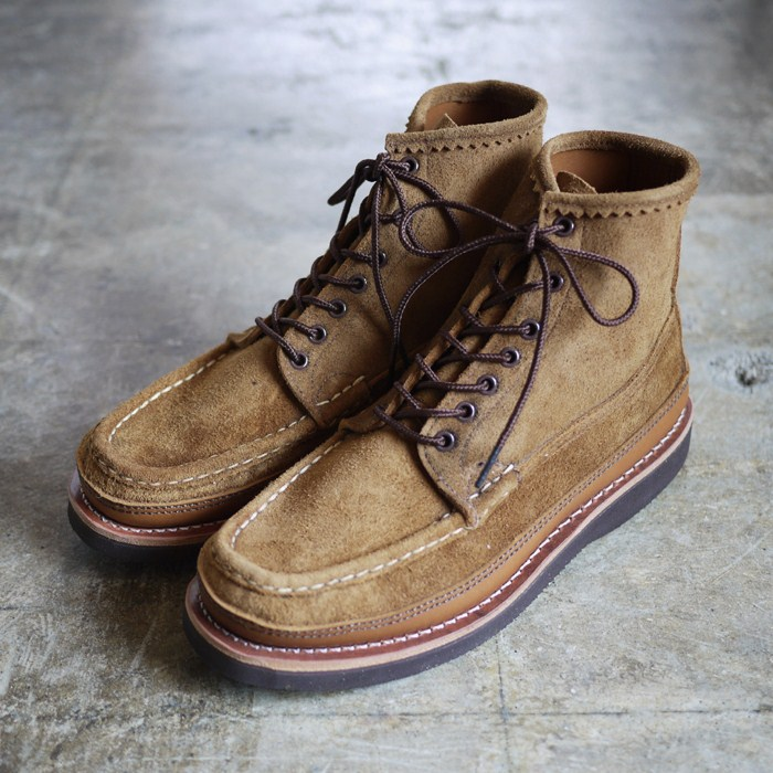 Russell Moccasin Suede Birdshooters