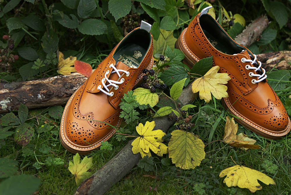 Tricker's Bourton Derby Brogue AW13 Autumnal Pack 3