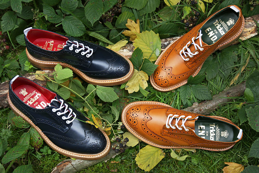 Tricker's Bourton Derby Brogue AW13 Autumnal Pack 6