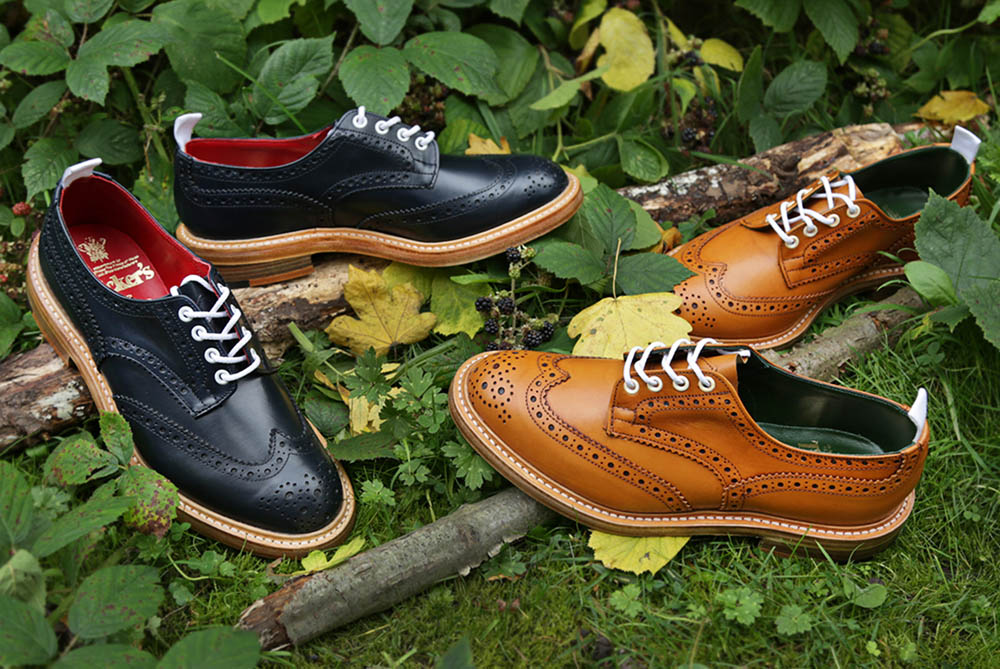 Tricker's Bourton Derby Brogue AW13 Autumnal Pack 7
