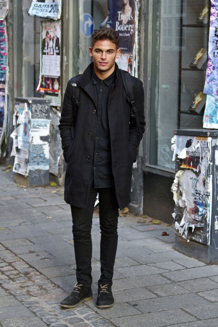all black converse outfit men