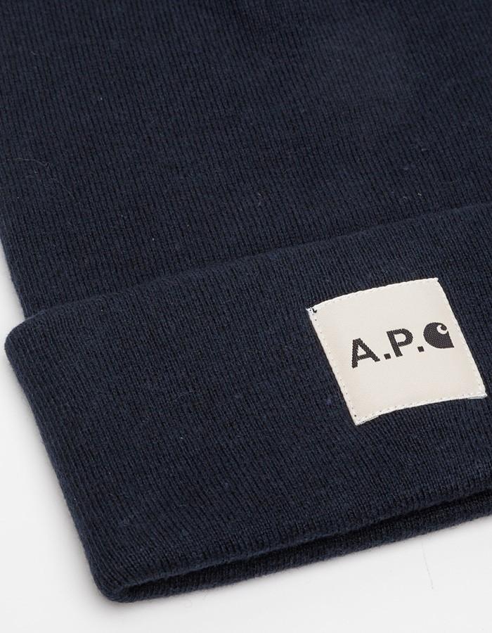 A.P.C. x Carhartt beanie 2