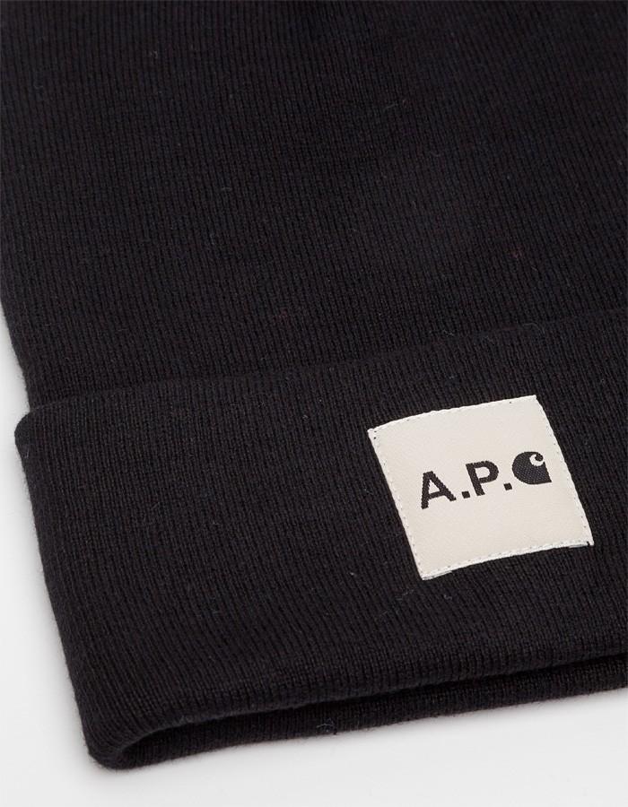 A.P.C. x Carhartt beanie 4