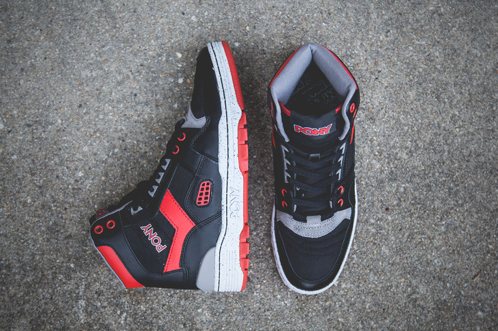 Black & Red M-100 Pony Sneakers 2