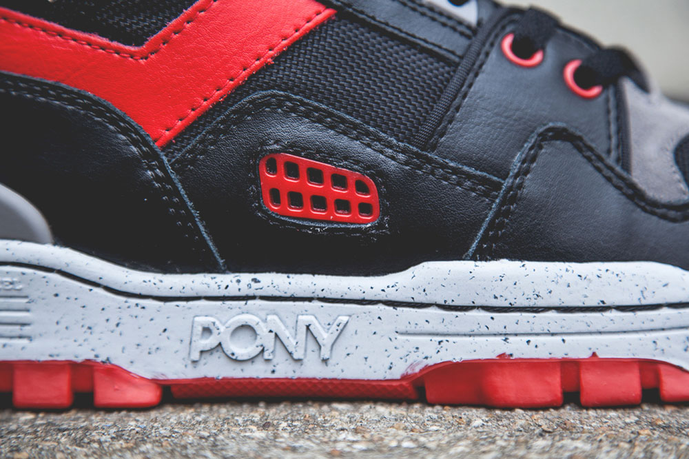 Black & Red M-100 Pony Sneakers 3