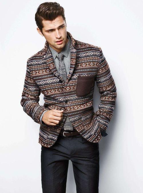 christmas jacket and tie lookbook - Christmas Jacket