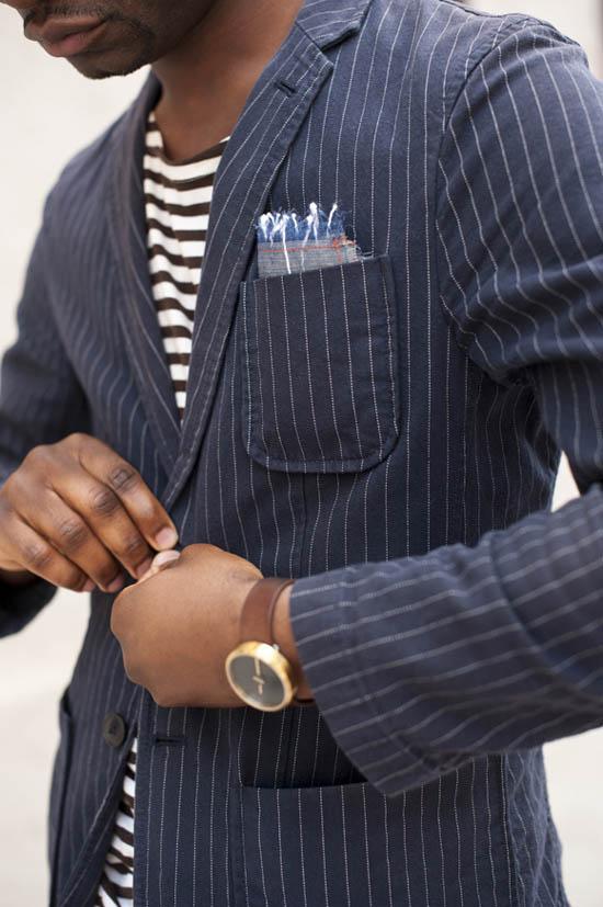 Horizontal vs. Vertical Stripes men's fashion blog