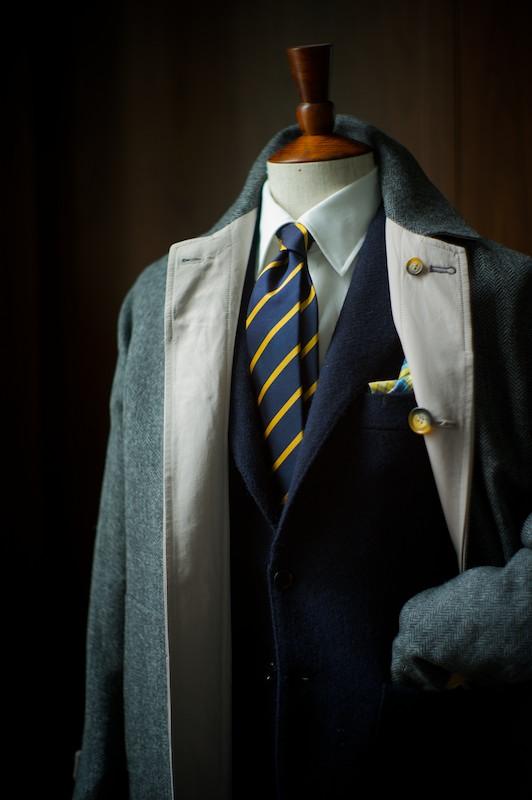 Justo Gimeno Reversible Coat in Tweed 1