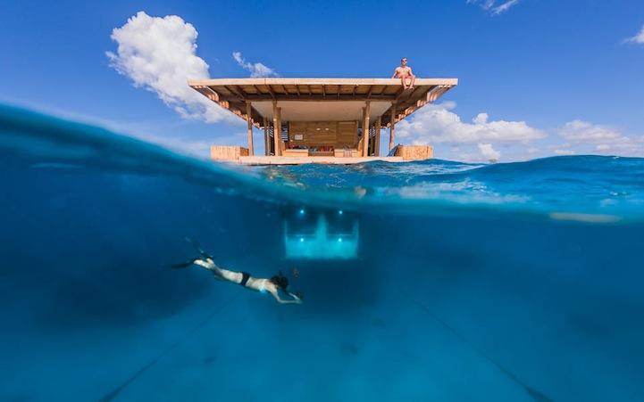 Manta Pemba Island Resort, Underwater Hotel 1