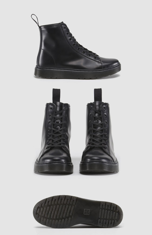 Mayer Boot Dr. Martens black monkey boot wedge sole