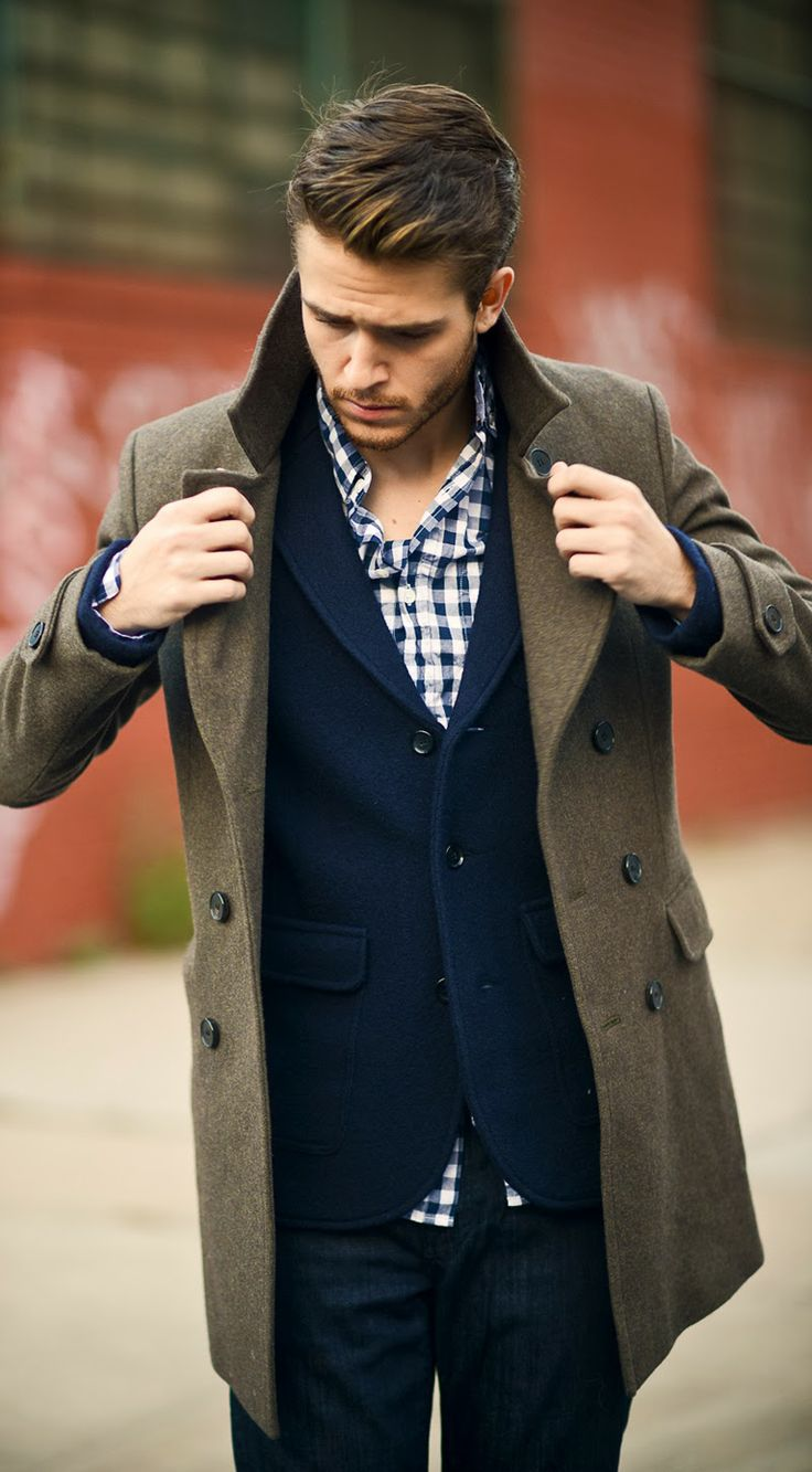 how to wear gingham sport coat