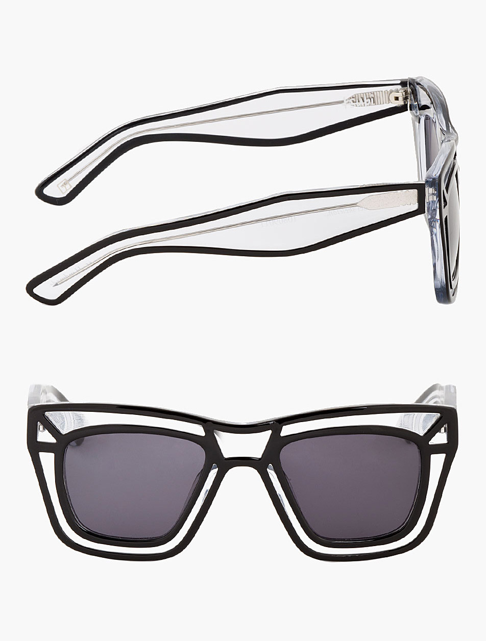 Clear Outline Skeleton Sunglasses Ksubi