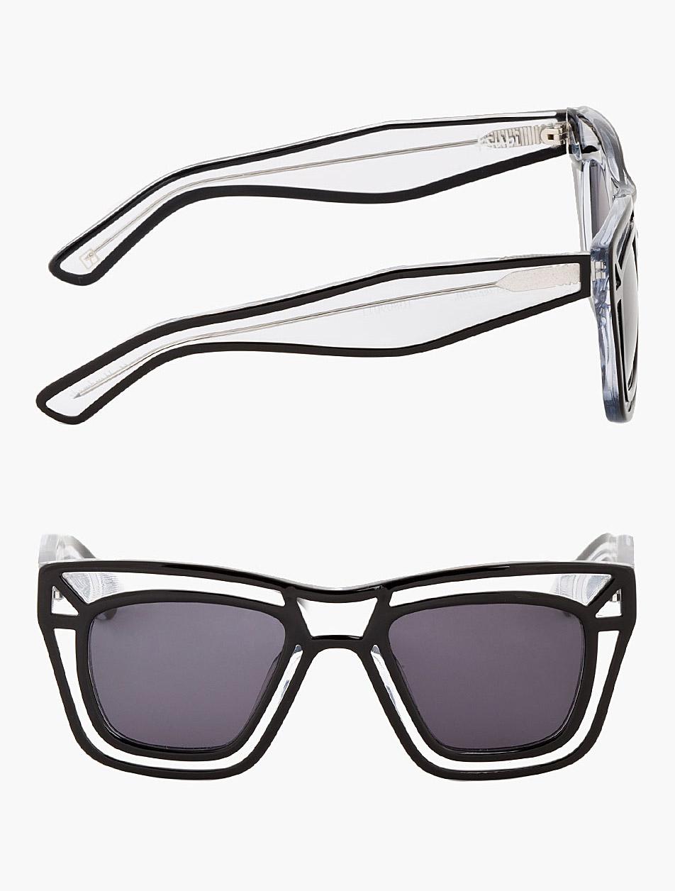 Clear Outline Skeleton Sunglasses Ksubi