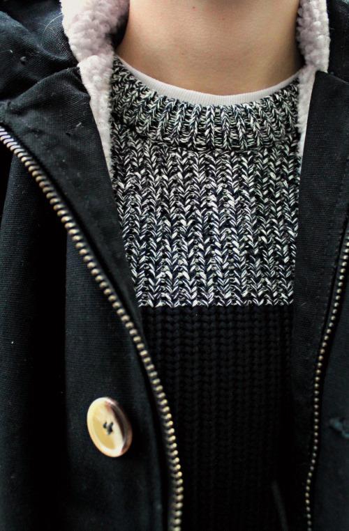 Dapper Report vol.8 38 wool knit