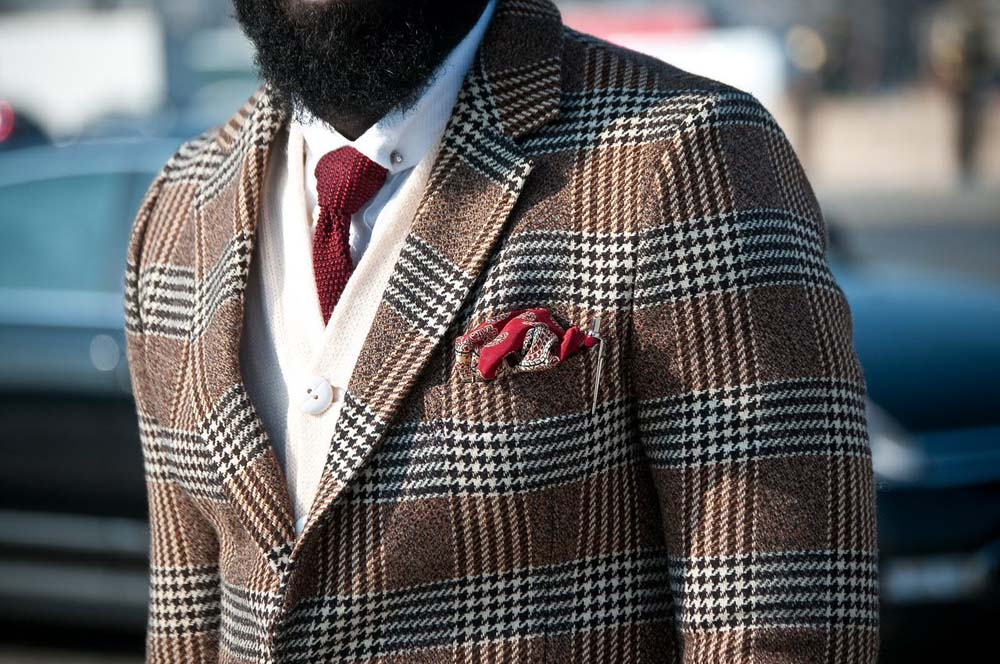 Dapper Report vol.8 4 burnt red