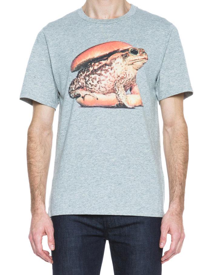 Frog Sandwich Grey T-Shirt #menswear