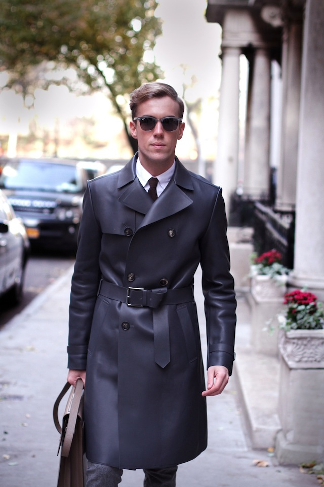 Grey is the Color Trench Salvatore Ferragamo