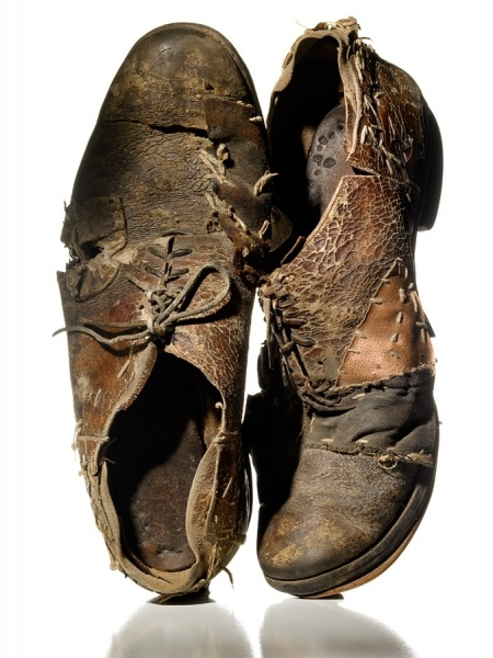 Old Soles Well Worn Rugged shoes
