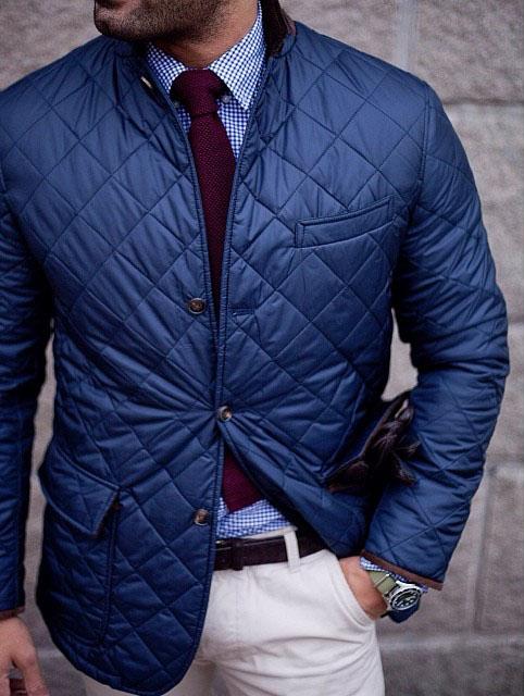 Quilted Jacket Gentleman