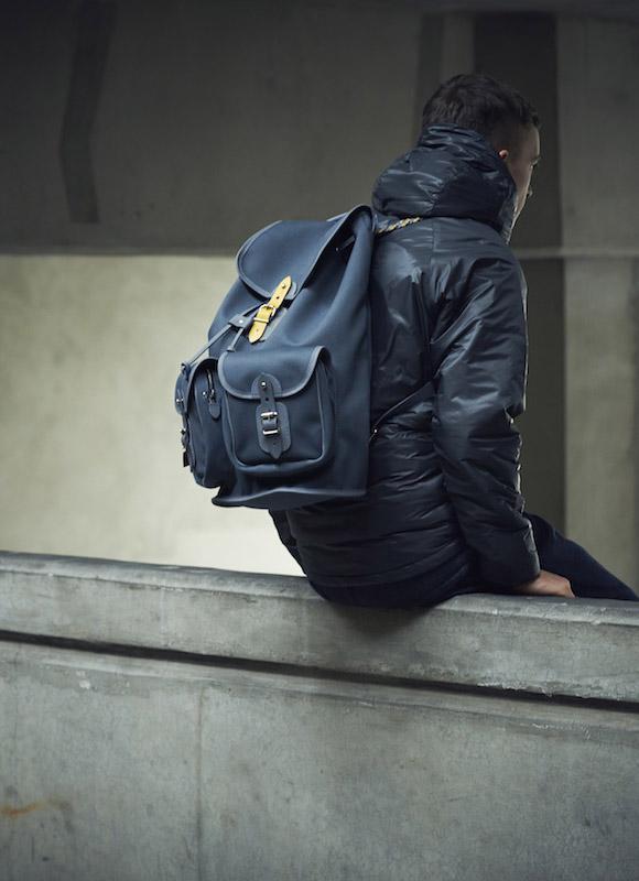 6876 × Chapman bag jacket lookbook 1