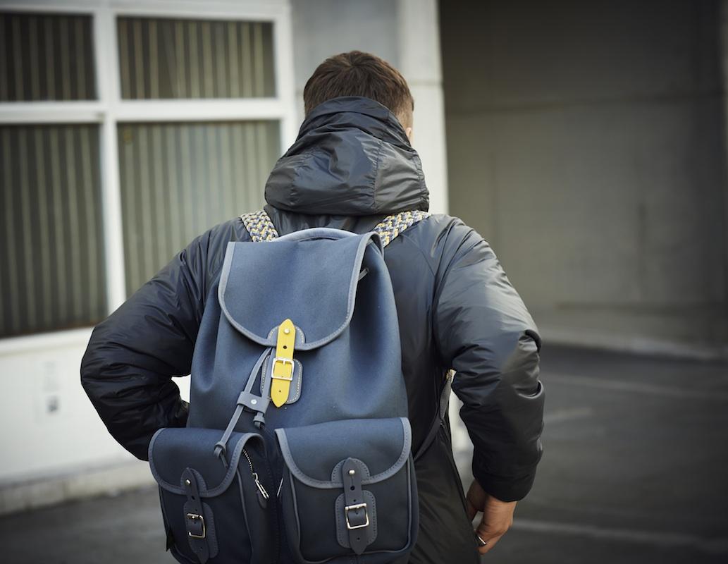 6876 × Chapman bag jacket lookbook 2