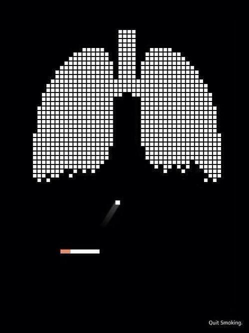 Clever Anti-Smoking Ad lung pong